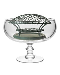 Classic Footed Rose Bowl & Wire