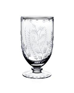 """Fern Footed Flower Vase 7"""" / 18cm"""