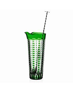 Lulu Emerald Martini Mixer & Stirrer