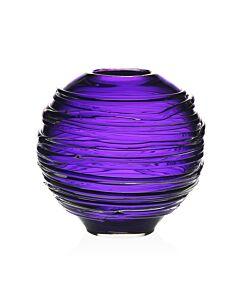 """Miranda Globe Vase Amethyst 6"""" / 15cm"""