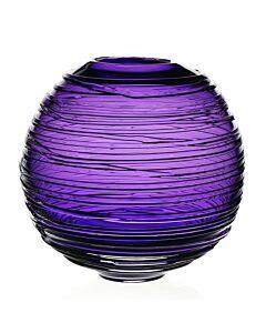 """Miranda Globe Vase Amethyst 9"""" / 23cm"""
