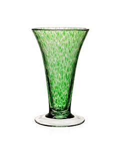 "Vanessa Vase Forest Green 9"" / 23cm"